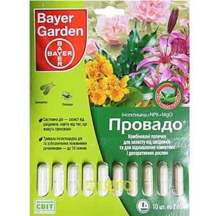 Инсектицид ПРОВАДО BAYER ПАЛОЧКИ 10 штук